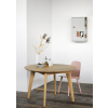 Ethnicraft - Oak Osso round dining table  - 120x120x75 cm